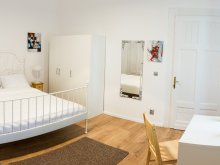 Apartment Sâncraiu, Perfect Stay Accommodation - White Studio Apartment